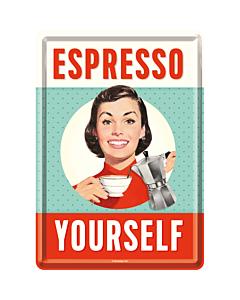 Postikortti 10x14 cm / Espresso Yourself