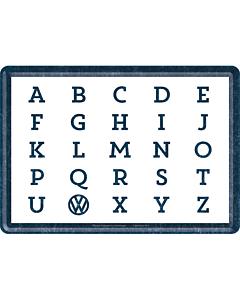 Postikortti 10X14 / VW ABC...