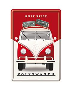 Postikortti 10X14 / VW Gute Reise