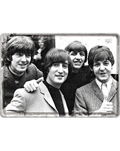 Postikortti 10x14cm / The Beatles
