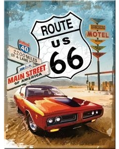 Magnet / Route 66 Gas Up / LM