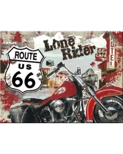 Magnet / Route 66 Lone Rider