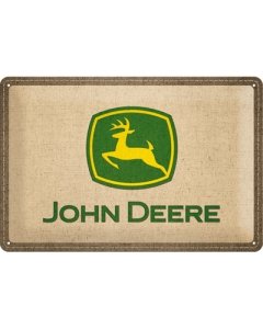Metallplaat 20x30cm / John Deere logo
