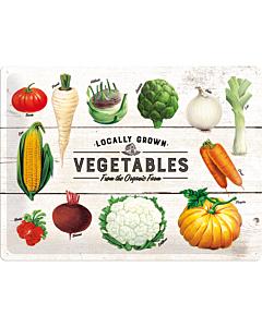 Kilpi 30x40cm / Locally Grown Vegetables