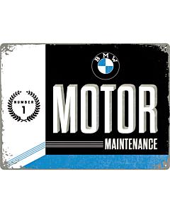 Kilpi 30x40cm / BMW Motor Maintenance