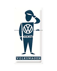 Kilpi 25x50 VW Dienst