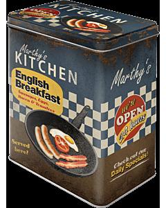 Metallpurk / L / English Breakfast