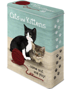 Metallpurk / XL / Cats and Kittens / LM
