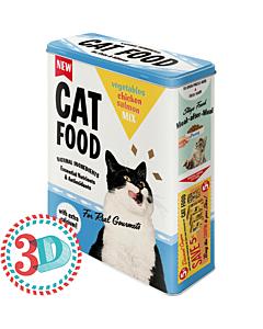 Metallpurk / XL / 3D Cat Food