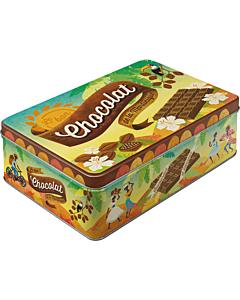 Metallkarp / Chocolat