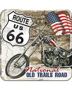 Retro Lasinalunen / 1kpl / Route 66 Old Trails Road