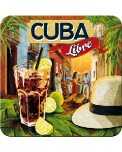 Retro klaasialus / 1tk / Cuba Libre