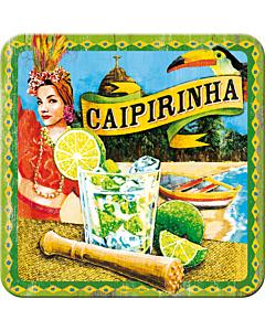 Retro klaasialus / 1tk / Caipirinha