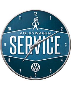 Seinäkello VW Service