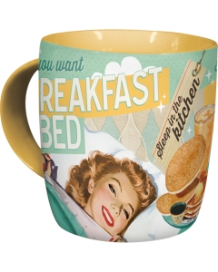 Kruus If you want breakfast in bed...