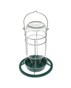 Klaasist jootur lindudele / 25cm