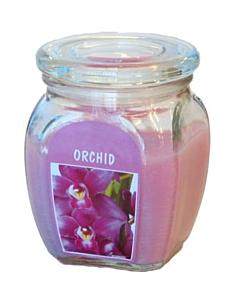 Lõhnaküünal / 92x120 / 60h / purk / orhidee / LM