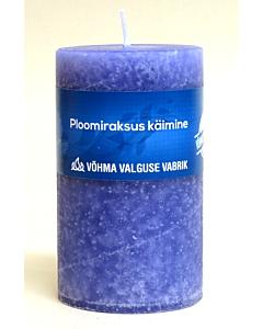 """Lõhnaküünal """"Plus"""" 60x90mm / 40h / silinder / Ploomiraksus käimine"""