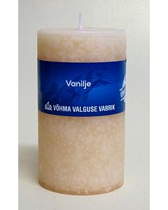 Lõhnaküünal 60x90mm / 40h / silinder / Vanilje