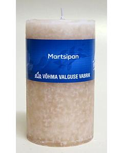 Lõhnaküünal 55x120 / 36h / silinder / Martsipan