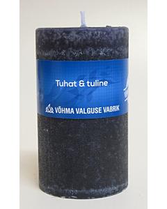 Lõhnaküünal 40x50 / 11h / silinder / Tuhat ja Tuline