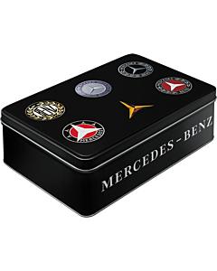 Metallkarp / Mercedes-Benz logo / LM