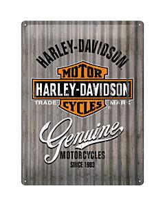Metallplaat 30x40cm / Harley-Davidson Genuine metalliseinä
