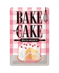 Kilpi 20x30cm / Bake a cake