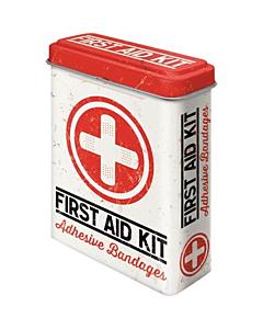 Metallist plaastrikarp / First Aid Kit / LM