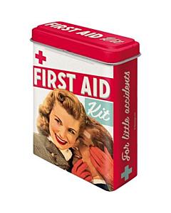 Metallist plaastrikarp / First Aid / LM