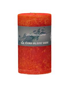 Lõhnata küünal 30x290mm / 24h / oranž /LM