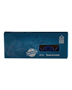 Teeküünal sinine lõhnaga / 10tk pakis / LM